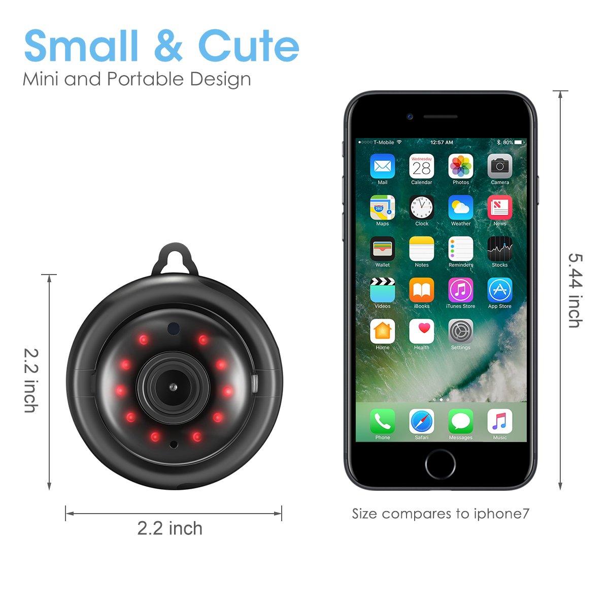 Amazon com : DIGOO M1Q 960P HD 2 8mm Lens Home Security