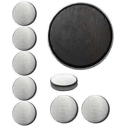 9 imanes extra fuertes de 3 cm de diámetro y 7 mm de grosor ...