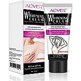 Natural Underarm Whitening Cream, Armpit Lightening & Brightening Deodorant Cream, Body Creams, Underarm Repair Whitening Cream Between Legs Knees Sensitive Areas 60g
