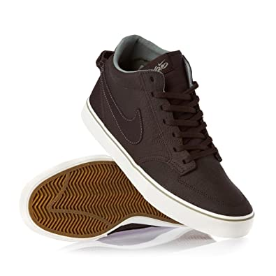 pretty nice abad3 042bc Nike Mens Sports Shoes Braata LR Mid Premium 6.0 Skate Trainers Tar Tar  Jade Stone