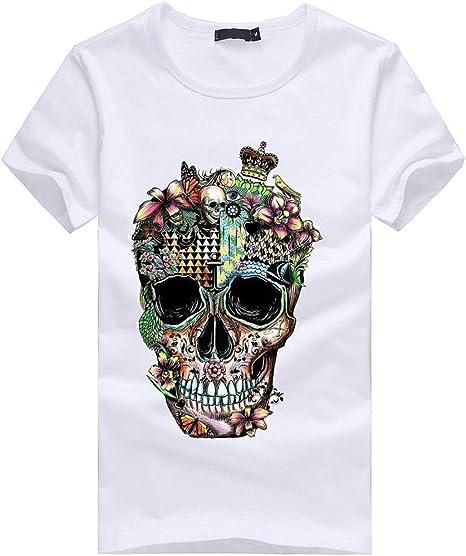 Celiy Home & Garden Camisa de Manga Corta para Hombre, diseño ...