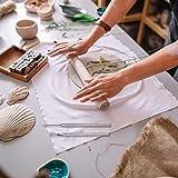 Senkary 6 Pieces Clay Ceramic Needle Detail Tools