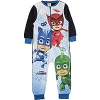 Various Tuta intera in pile personaggio pigiama per bambini all in one PJ taglia UK 1–10anni