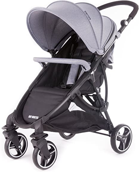 Baby Monsters - Silla de paseo Compact 2.0 - Color Gris Marengo + ...