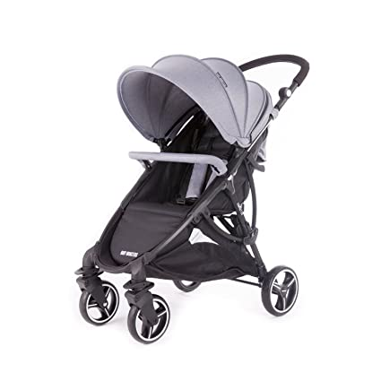 Baby Monsters - Silla de paseo Compact 2.0 - Color Gris Marengo + Regalo Muselina Monsters