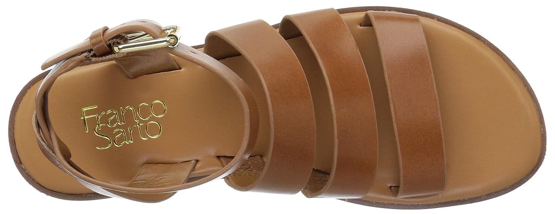 Franco Sarto Women's Kyson Flat Sandal B078VCG7R9 9 B(M) US|Tan