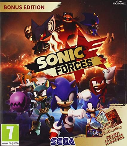 Xbox One Sonic Forces Bonus Edition: Amazon.es: Videojuegos