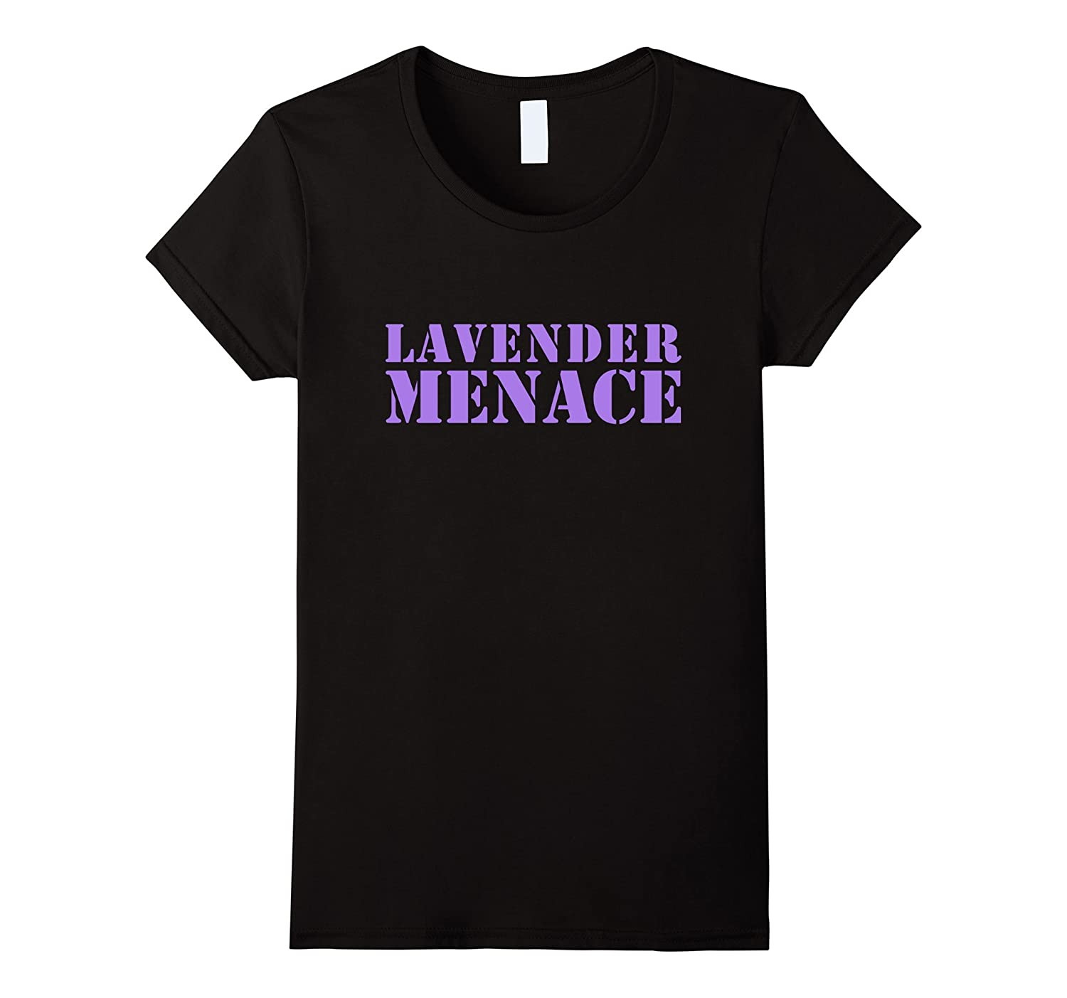 Women's Lavender Menace T-Shirt-FL