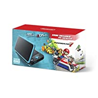 New Nintendo 2DS XL - Black + Turquoise With Mario Kart 7 Pre-installed - Nintendo...