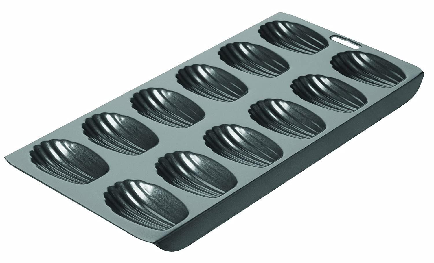 Chicago Metallic Professional 12-Cup Non-Stick Madeleine Pan, 15.75-Inch-by-7.75-Inch 26631