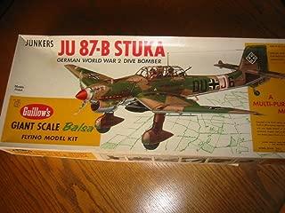 product image for Guillow's JU 87-B Stuka Model Kit