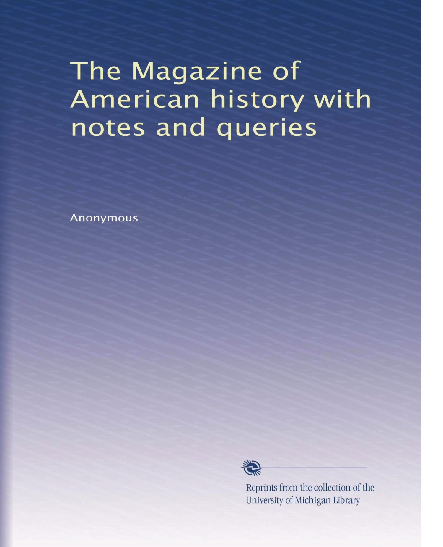 The Magazine of American history with notes and queries pdf epub
