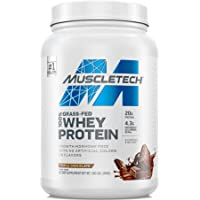Grass Fed Whey Protein | MuscleTech Grass Fed Whey Protein Powder | Protein Powder for Muscle Gain | Growth Hormone Free…