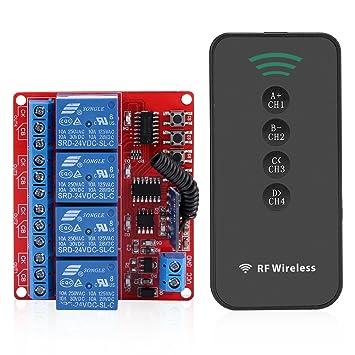 Fdit Schalter Kontrolle Remote Wireless Receiver Lernen Von Relais