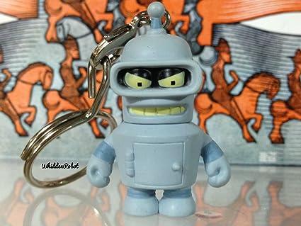 Amazon.com: Dobladora de Futurama, Kidrobot Llavero 1.5 ...