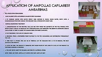Amazon.com : Ampollas Capilares Ambarina, PRODUCTO ORIGINAL (Caja 24 Unidades de 15cc) : Beauty