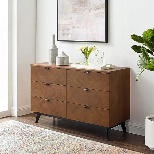 Modway Kali Mid-Century Modern Wood Dresser