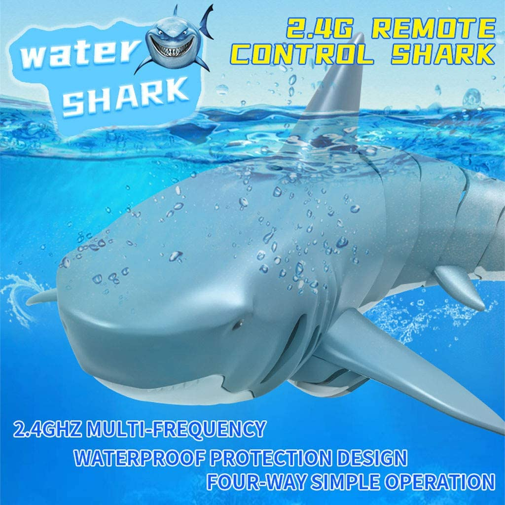 Webla Control remoto eléctrico del barco del tiburón 2.4G control remoto remoto de 4 canales para el barco eléctrico Shark Head Rc