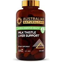 Australian NaturalCare 13000mg Liver Care Milk Thistle Tablets, 60 Count