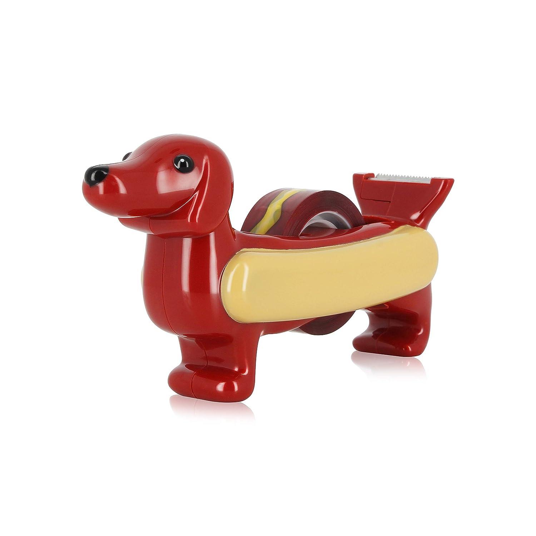 NPW NPW81251 Pups to Go-Hot Dog Klebeband-Spender, keine