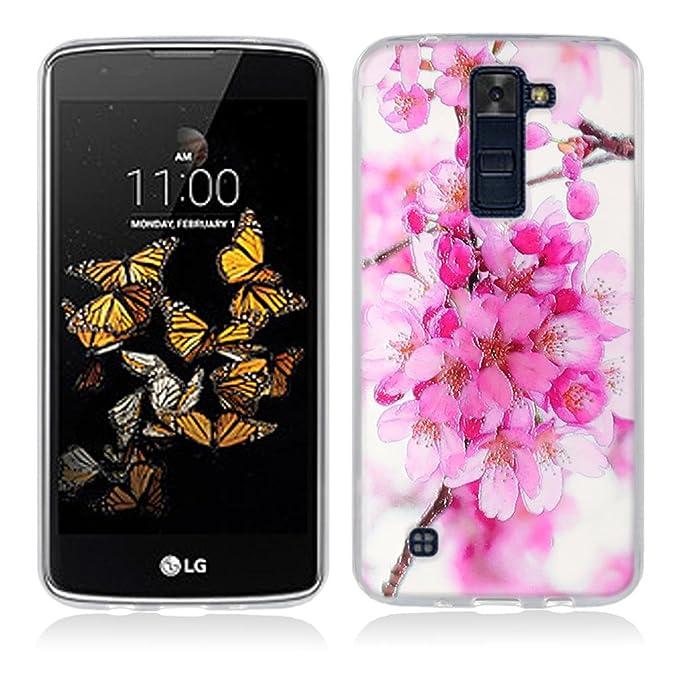 1 opinioni per FUBAODA LG K8 Cover, 3D Rilievo Bel Fiore UltraSlim TPU Skin Cover Protettiva