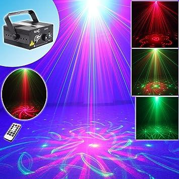 Amazoncom SUNY Laser Light Red Green Gobo Projector Blue LED - Laser lights for bedroom