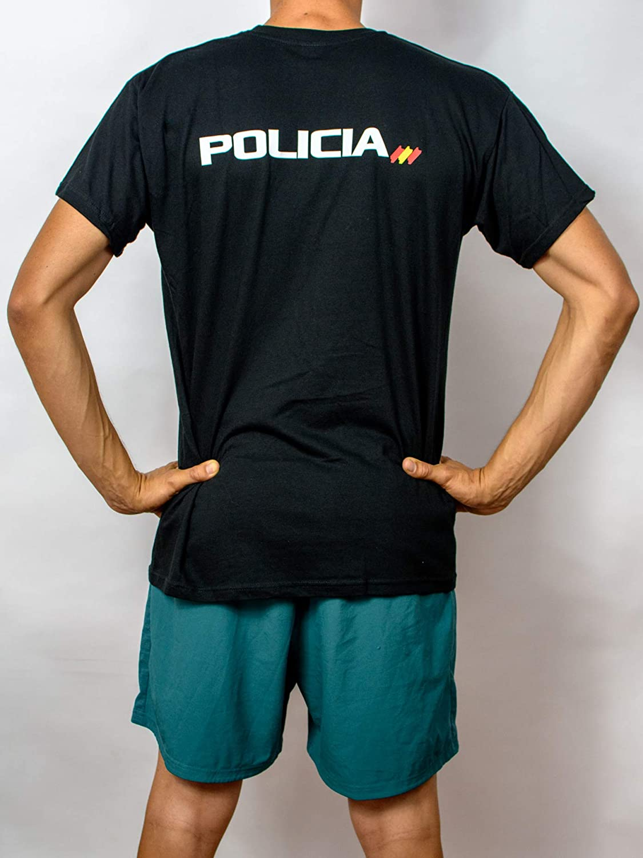 Alpimara Camiseta Policía Nacional 100% Algodon Niño (Negro, 7/8): Amazon.es: Ropa y accesorios