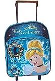 """Disney Princess Cinderella Rolling Backpack 12"""" Toddler SIze"""