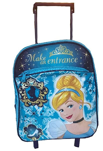 effd4d394ca8 Image Unavailable. Image not available for. Color  Disney Princess  Cinderella Rolling Backpack ...