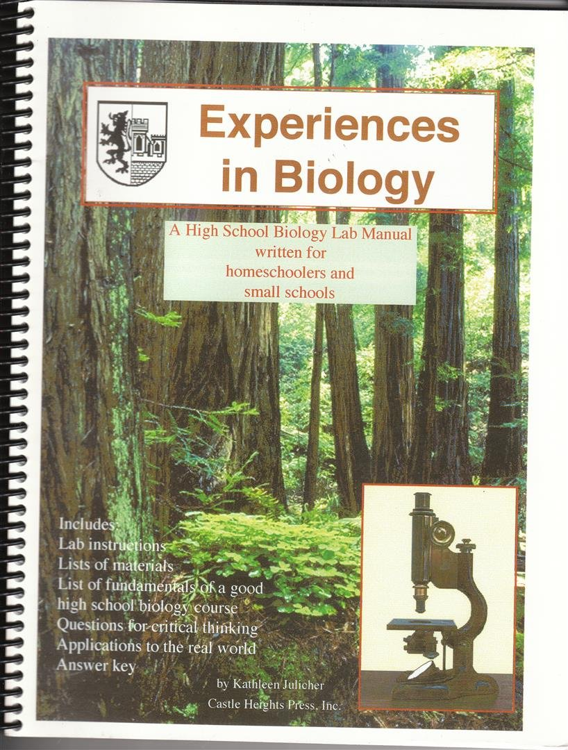 amazon com experiences in biology manual a biology lab manual rh amazon com High School Biology Lab Equipment High School Chemistry Lab