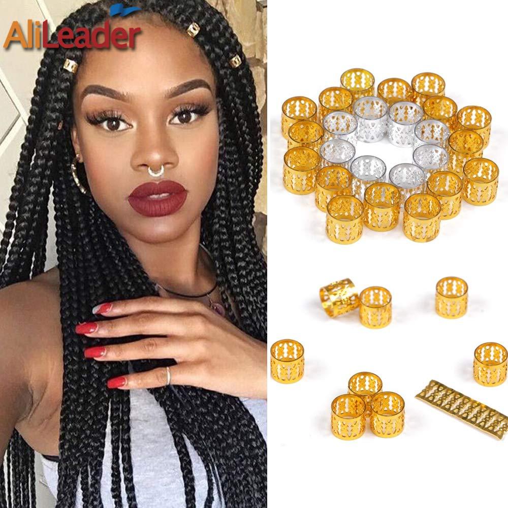 Amazon Com Alileader 100pcs Gold Braid Hair Accessories Hair