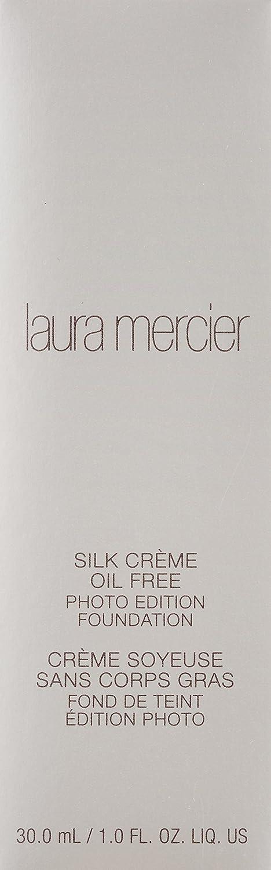 Laura Mercier Silk Creme Oil Free Photo Edition Foundation, Beige Ivory, 1 Ounce