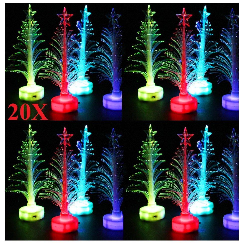 10X Mixed LED Christbaum Weihnachtsbaum Tannenbaum künstlicher Deko