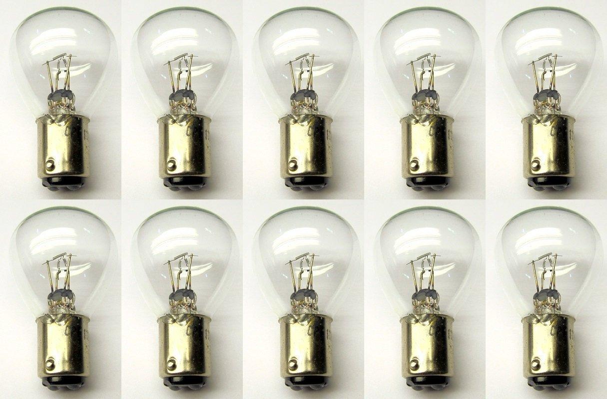 Bujías # 1188 bombillas, 6 V, BA15D Base, RP-11 forma (caja de 10): Amazon.es: Iluminación