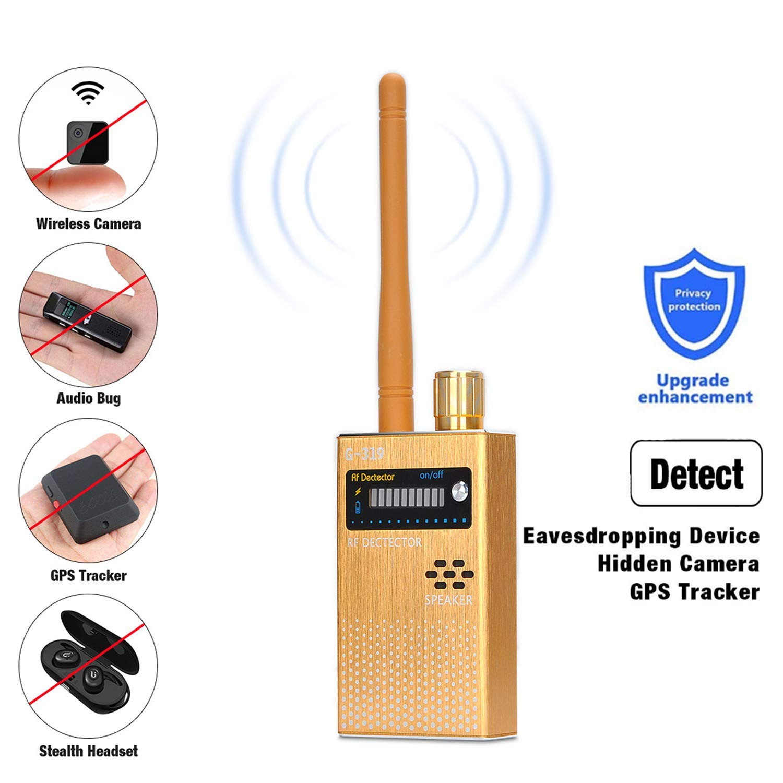 RF Signal Detector COVVY Wireless Anti Spy Bug Detector GPS Radar Radio Scanner GSM Signal Tracker Hidden Camera Eavesdropping Device Wireless Signal Alarm