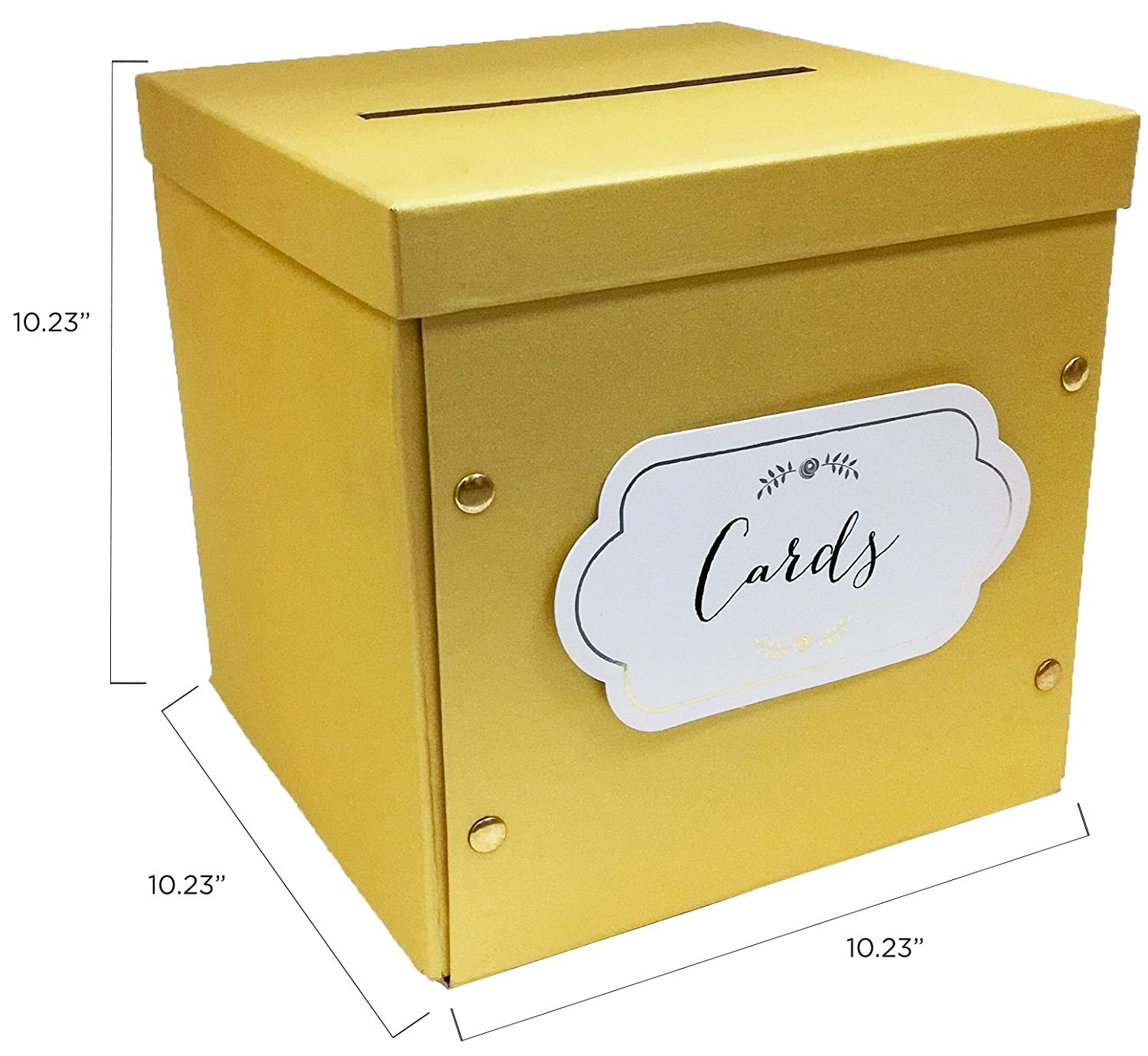 Amazon.com: Kate Aspen Collapsible Greeting Card Envelope Box, 10.2W ...
