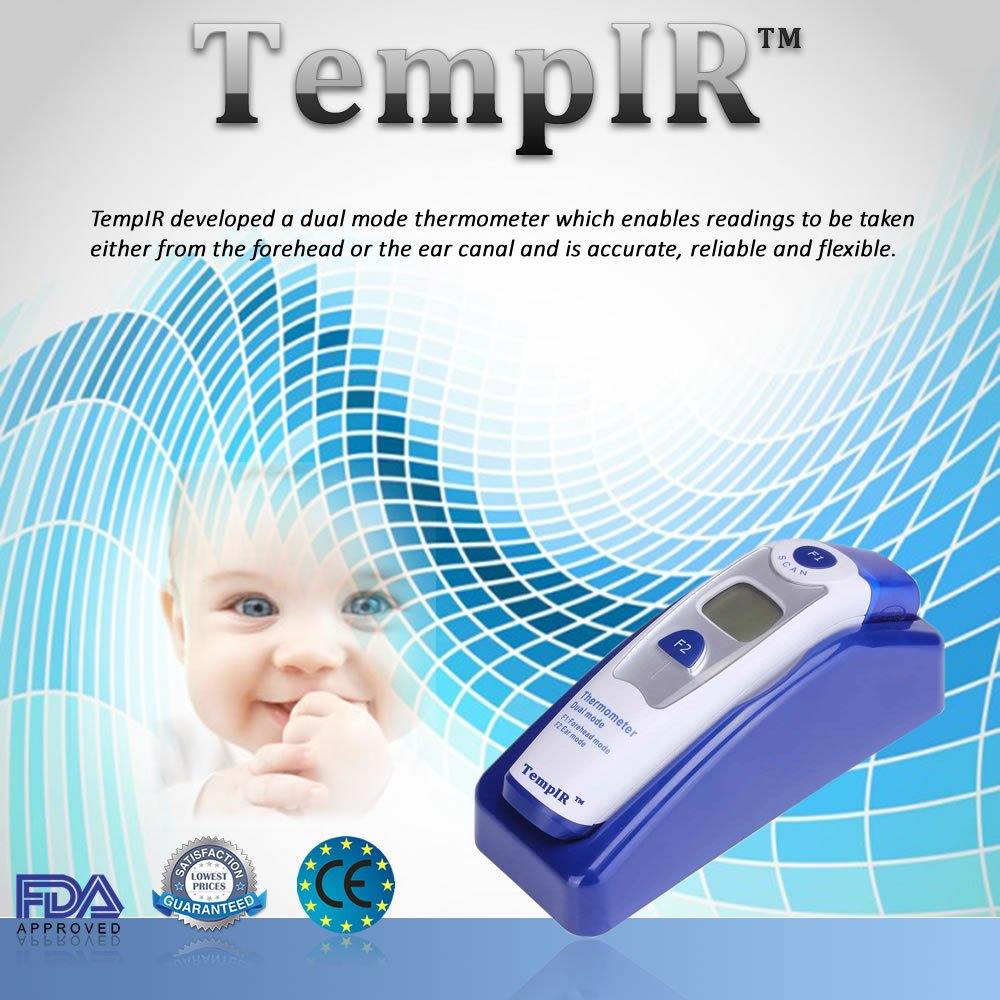 Amazon.com: Best Baby Thermometer - Forehead and Ear Thermometer ...