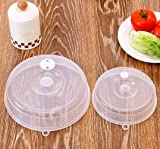 Gotian Clear Microwave Food Cover Plate Vented