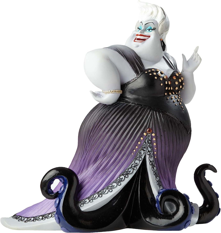 "Enesco Disney Showcase Ursula from The Little Mermaid Stone Resin Figurine, 8"", Multicolor"