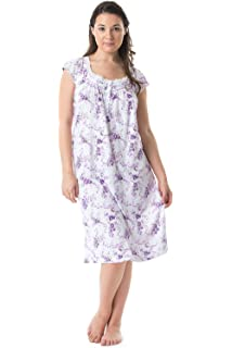 00107 Women Night Gowns Sleep Shirts Pajamas at Amazon Women s ... 1b0fad88a