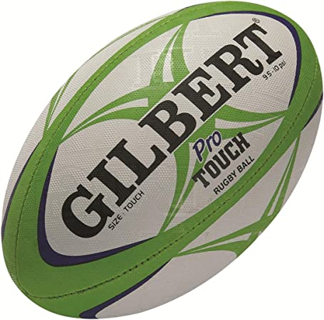 Gilbert Pro Touch Sports Warm Ups Summer Touch Pro Match Quality Grip Rugby Ball Amazon Co Uk Sports Outdoors