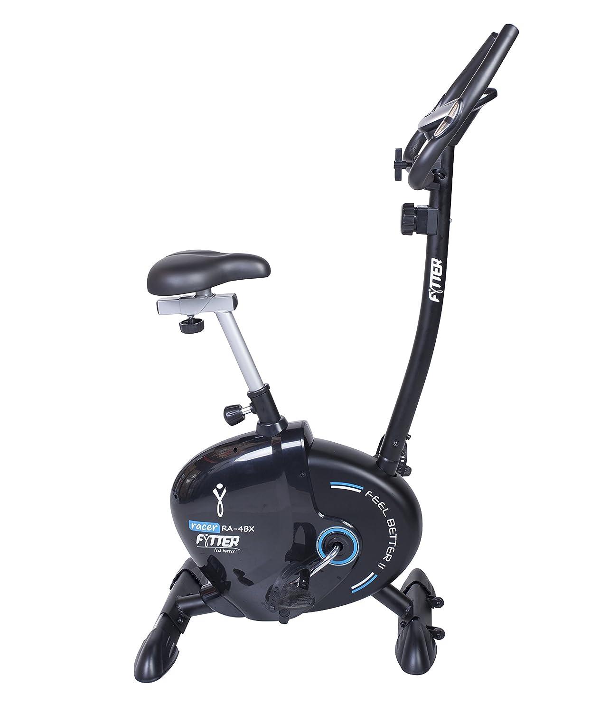 FYTTER Bicicleta Estática Racer Ra-4Bx Azul/Negro: Amazon.es ...