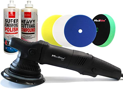 "Meguiar/'s 5/"" Soft Finishing Cutting DA Rotary Polisher Polishing"