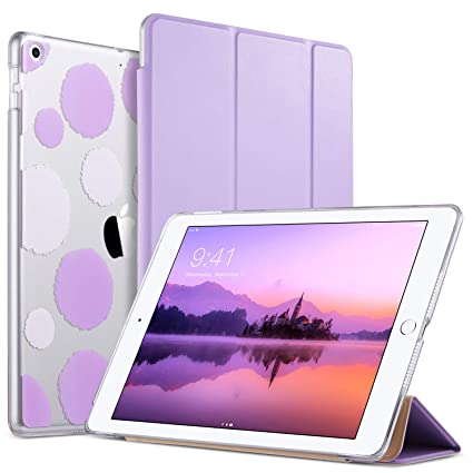 Computers/tablets & Networking Tablet & Ebook Reader Accs Sleep-purple With The Best Service Ipad 9.7 Case 2018 Premium Leather Folio Stand Cover Auto Wake