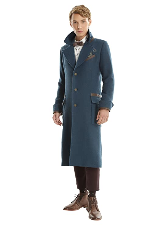 1920s Mens Coats & Jackets History Fantastic Beasts And Where To Find Them Newt Scamander LE Overcoat $245.00 AT vintagedancer.com