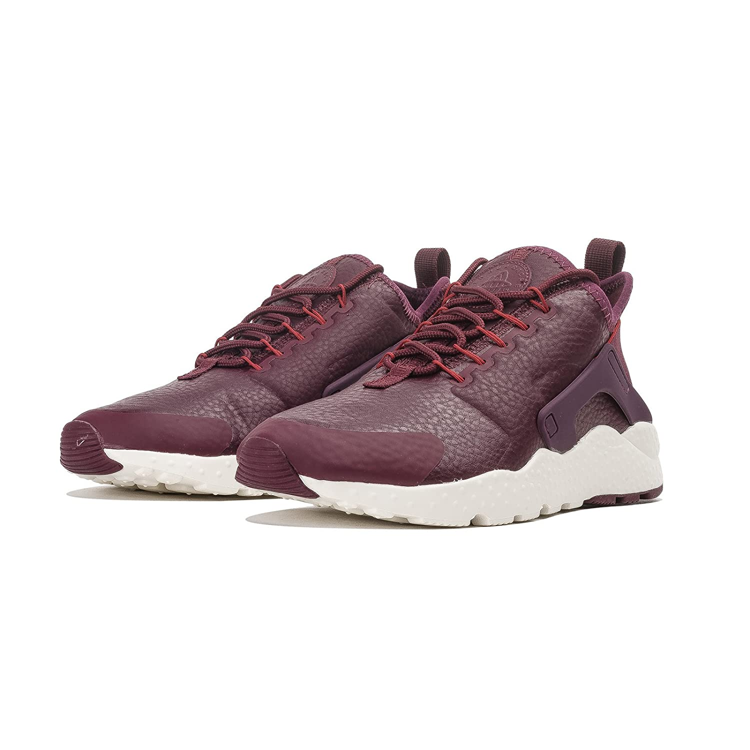 NIKE Women's Air Huarache Run Ultra Running Shoe B01M3PNP3M 7 B(M) US|Night Maroon/Dark Cayenne-sail