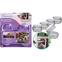 Dreambaby Stove & Oven Knob Safety Cover - Model L730A - (5 Pack)