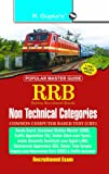 RRB: CBT - Non-Technical Popular Categories 1st & 2nd Stage Exam Guide (Main)