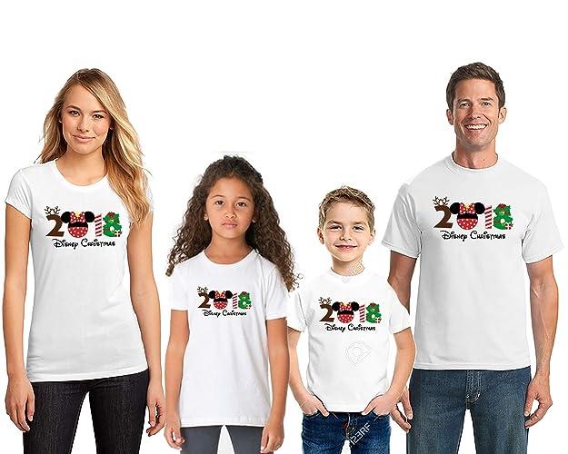 388ad5ad398 Amazon.com  Matching All Family Disney Christmas Shirts