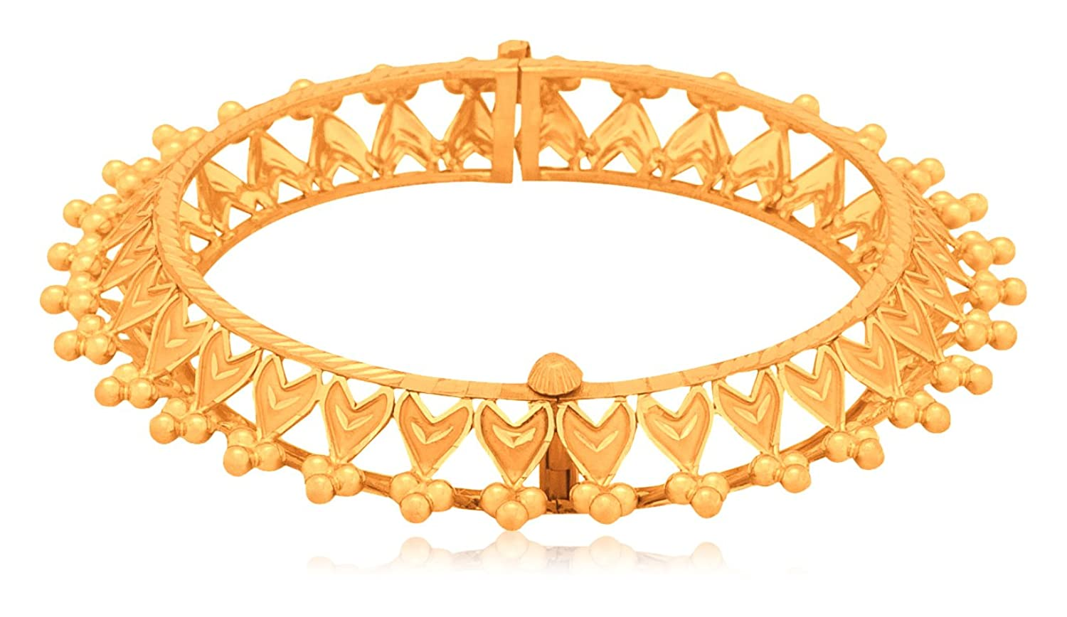 Buy Senco Gold 22k Yellow Gold Bangle Online at Low Prices in India ...
